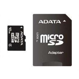 ADATA 16GB Micro SDHC s adaptérem Class 4