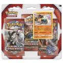 Pokémon TCG Crimson Invasion 3-Pack Booster Blister Lucario