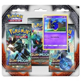 Pokémon Sun and Moon 3 - Burning Shadow - 3 Pack Blister - Cosmog