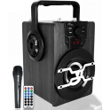 Media-Tech MT3159 BOOMBOX PRO BT - portable bluetooth active speaker with karaoke feature