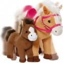 Zapf 822371 Baby Born kůň s hříbátkem