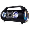 Media-Tech U-TUBE BT - Přenosný reproduktorový systém s funkcí karaoke 18W MT3163