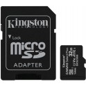 Kingston paměťová karta 32GB Canvas Select Plus microSDHC 100R A1 C10 Card + ADP