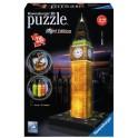 3D puzzle Ravensburger Big Ben Noční Edice 216dílků