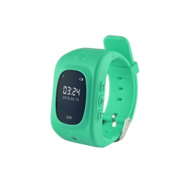 KIDS LOCATOR GPS - GPS tracking Watch, GSM alarm phone for safety of kids in age 5-10 - blue MT851B
