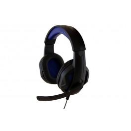 MediaTech COBRA PRO STEALTH MT3576  ,velké herní sluchátka s mikrofonem