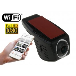 Media-Tech MT4060 U-Drive WIFI - Car digital video recorder FULL HD. Dashcam type, 1080p,12MPx foto