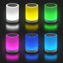 MT3154S LIGHTBOX BT TOUCH - Bluetooth Speaker with Touch Multicolor Lamp & MP3 Player